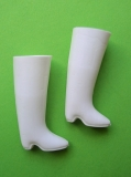 Sindy shoes htf white boots Trendy Girl