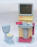 Sindy other play set furniture bathroom