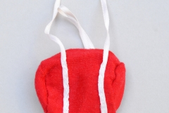 Sindy acc outfit 1984 Beach Party doll purse