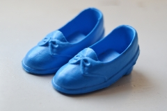 sindy shoes htf Sindy shoes bow blue