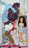 Sindy case with doll and clothes
