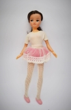 Sindy doll 1980 Ballerina, all poses hold, straps miss from shoes