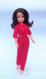 Sindy doll 1983 Styling, long thick hair in original jumpsuit