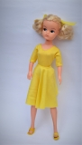 Sindy doll 1983 Partytime with bunches, in oringal clothing, one shoe is discolored