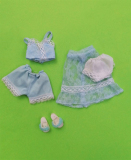 Sindy outfit 1980 Baby  Blue 1