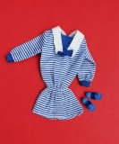 Sindy outfit 1984 Autumn Designs sailor dress, blue sandals