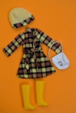 sindy outfit 1975 Checky Coat
