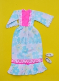 Sindy outfit 1973 Lounger, with bow shoes