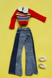 Sindy outfit 1975 Jumper n Jeans