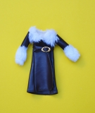 Sindy outfit 1976 Feeling Frosty, with replacement belt, small dent on front