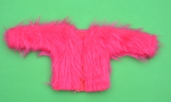 Sindy outfit 1977 Mix n Match Pink Fun Fur Jacket