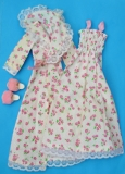 Sindy outfit 1978 Sweet Dreams, with htf slippers