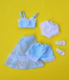 Sindy outfit 1980 Baby Blue