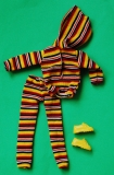 Sindy outfit 1981 Fun Suit, with yellow trainers