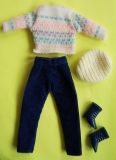 Sindy outfit 1984 French Connection, loose