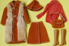 Barbie outfit 1974 European Exclusive Pelliccia Sportiva complete