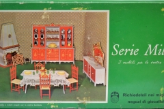 Barbie structure Principesa Milady Dining Room 1