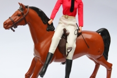Barbie doll 1977 Equestrienne with Dancer horse