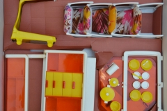 Barbie structure 1978 Dining room 2
