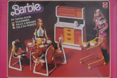 Barbie structure 1978 Dining room 1