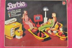 Barbie structure 1978 Dream Furniture  Living Room 1