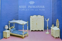 Barbie structure Principesa Milady bedroom