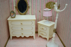 Barbie structure Principesa Milady bedroom furniture 1