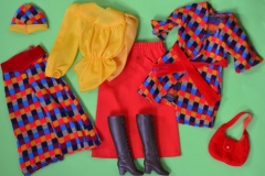 Barbie outfit 1976 #9424 Chic in Hosen European Exclusive