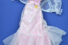 Barbie outfit 1976 #9738 Pink and White Lights the Night