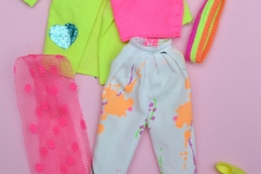 Barbie outfit 1985 #2791 Rock Stars Fashions