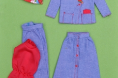 Barbie outfit 1975 #7179 Weekend off European-Exclusive